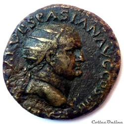 Vespasien 72-73/Dupondius/Lyon/RIC II 74...