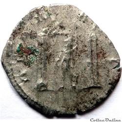 monnaie antique av jc ap romaine gallien 258 259 lyon ou cologne deo marti