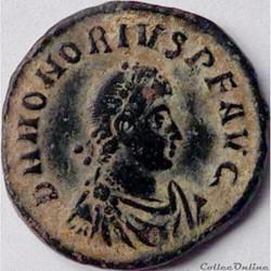 Honorius 392-395/Antioche/GLORIA ROMANORVM