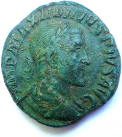 Maximin le Thrace 235-238/Sesterce/Rome/...