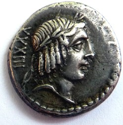 Gens Calpurnia -90/Denier/Apollon