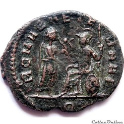 monnaie antique av jc ap romaine aurelien 271 milan romae aeternae