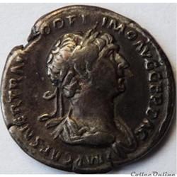 Trajan 114-117/Denier/Rome/RIC II 355