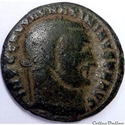 Maximin II Daia 312/Nicomédie/SOLI INVIC...