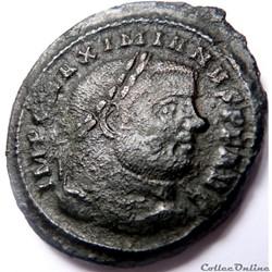 Maximien Hercule 300-303/Ticinum/SACRA M...
