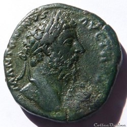Marc Aurèle 168-169/Sesterce/Rome/RIC II...