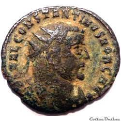 Constantin 1er 306-307/Alexandrie/