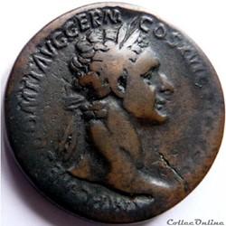 Domitien 92-94/Sesterce/Rome/IOVI VICTOR...