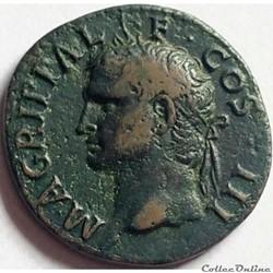 Agrippa 37-41/As/Neptune