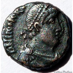 Honorius 395-401/Antioche/VIRTVS EXERCITI