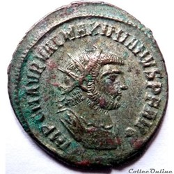 Maximien Hercule 285-295/Antioche/IOV ET HERCV CONSER AVGG