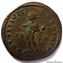monnaie antique av jc ap romaine constantin 1er 315 316 lyon soli invicto comiti
