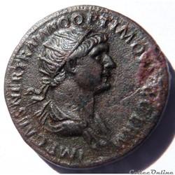 Trajan 115/As/Antioche/RIC II 647