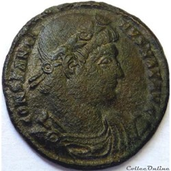 Constantin 1er 330-335/Nicomédie/GLORIA EXERCITVS