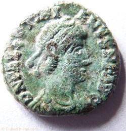 Valentinien II 388-392/Arles/VICTORIA AV...