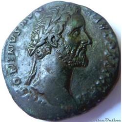 Antonin le Pieux 155-156/Sesterce/Rome/RIC III 941