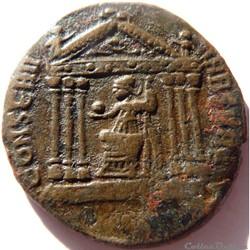 monnaie antique av jc ap romaine maxence 308 310 rome conserv vrb svae