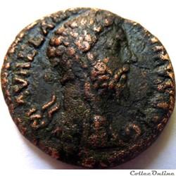 Marc Aurèle 179-180/As/Rome/RIC III 1247