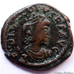 Arcadius 388-392/Constantinople/SALVS REIPVBLICAE