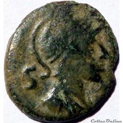 Semis de Nîmes frappé en 40 ap JC.