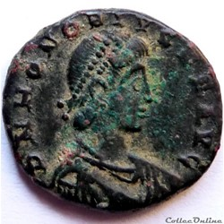 Honorius 392-395/Nicomédie/GLORIA ROMANORVM