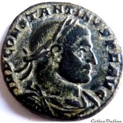 Constantin 1er 316-317/Arles/SOLI INVICT...