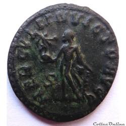 monnaie antique jc ap romaine maximien hercule 289 lyon hercvli invicto avgg