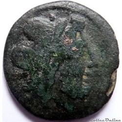 Anonyme -211/Victoriat de la République en bronze/Jupiter