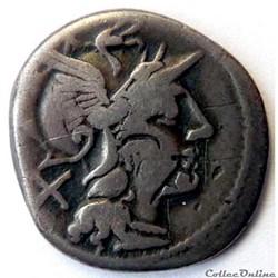 Gens Pinaria -155/Denier/Rome