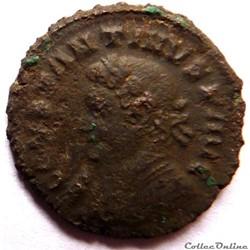 Constantin 1er 316/Londres/SOLI INVICTO COMITI