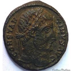 Constantin 1er 327-328/Antioche/PROVIDENTIAE AVGG