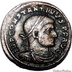 Constantin 1er 313-314/Arles/SOLI INVICT...