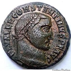 Constantin 1er 312/Alexandrie/GENIO AVGVSTI