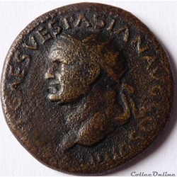 Vespasien 77-78/Dupondius/Lyon/RIC II 12...