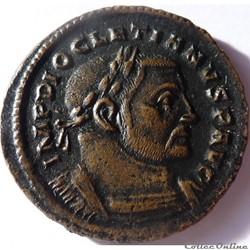 Dioclétien 303-305/Trèves/GENIO POPVLI R...