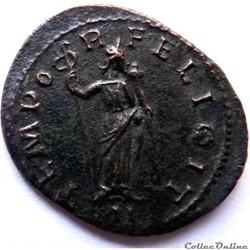 monnaie antique av jc a ap romaine probus 281 lyon tempor felicit