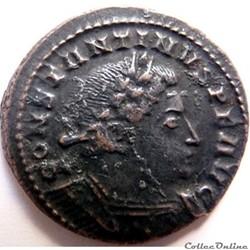 Constantin 1er 310-312/Londres/COMITI AVGG NN