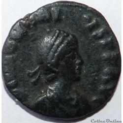 Honorius 395-401/Alexandrie/VIRTVS EXERCITI