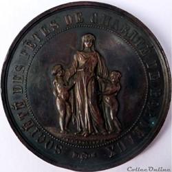 Société des fêtes de charité de Bordeaux 1851