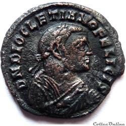 Dioclétien 308/Alexandrie/PROVIDENTIA DE...