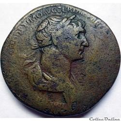 Trajan 116/Sesterce/Rome/RIC II 663