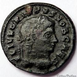 Crispus 324-325/Sirmium/RIC VII 49