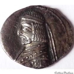 Royaume Parthe Orodes 1er 90-80 av JC