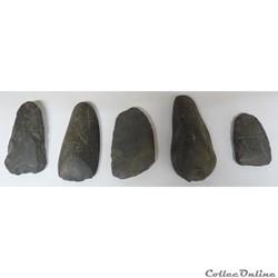 Haches du néolithique
