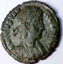 Constance II 350-351/Siscia/VICTORIA CAE...