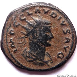 Claude II 268-269/Antioche/IVVENTVS AVG