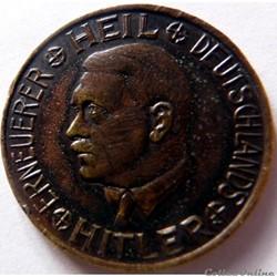30 pfennig à l'effigie d'Hitler