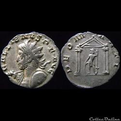 Les monnaies du règne conjoint de Valérien Ier et Gallien pour les ateliers de Cologne et Trèves