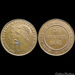 Médaillettes commémoratives de Napoléon III