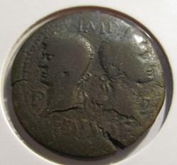 Augustus and Agrippa Dupondius